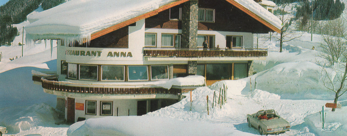 Cafe Anna Anno 1977
