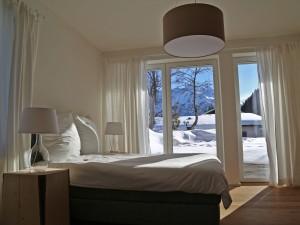 Ferienwohnung Kleinwalsertal Talgruen Schlafzimmer 1