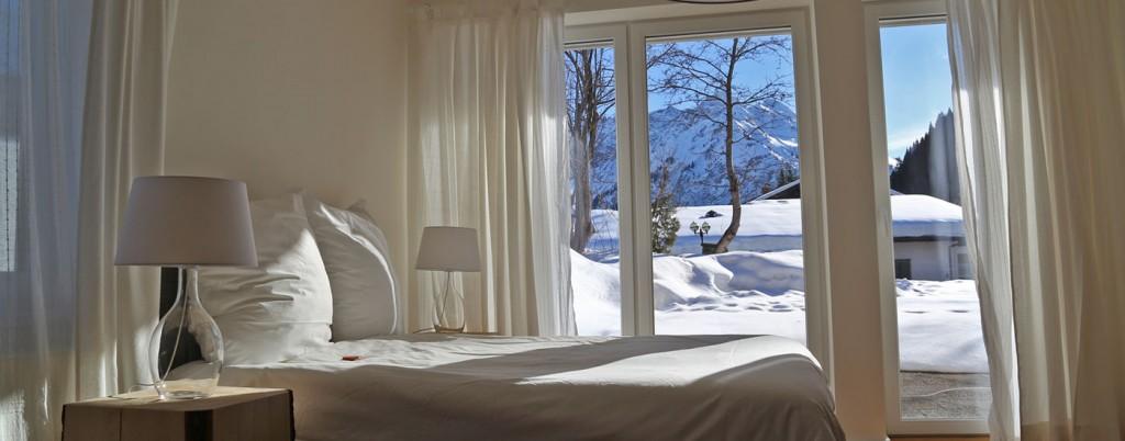 Ferienwohnung Kleinwalsertal Talgruen Schlafzimmer 01-16