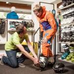 Sport Hilbrand Mittelberg Kleinwalsertal Skischuh Service